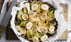 Licht & lekker: prei-banaan ovenschotel van The Foodsisters - Libelle Daily