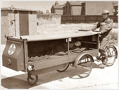 One of the first ambulances