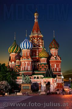 Russia, Moscow, St Basil's Cathedral