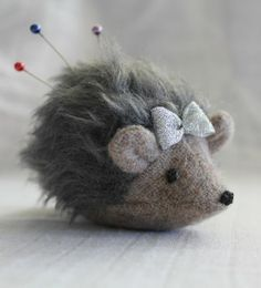 Hedgehog Pincushion Pattern - Click for More...