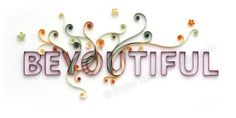 Quilling Letters 101 - Part 7 Quilling a Word