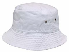 Short Brim Visor Cotton Bucket Sun Hat