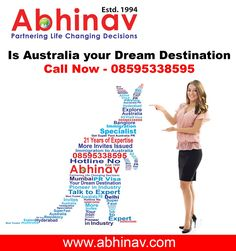 ABHINAV is a famed & trusted immigration & visa consultation consultancy which started its operations way back in 1994 with an object to help the common immigration & visa aspirants, and guide them navigate through the choppy and difficult visa-submission procedure, in a better and fruitful manner. We are fully focused and dedicated to serve our clients, who could be interested to present visa-petitions and immigration applications for Permanent Resident (PR) and Temporary Resident Visas via…