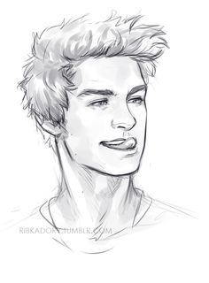 how to get back to drawing after 2 weeks break - draw a cutie you love :3 Peter sticking his tongue out for no apparent reason xD actually just to prove how cute he is to Wade