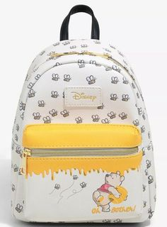 Disney Loungefly Winnie the Pooh Mini Backpack Hundred Acre Wood Map Cute Disney Outfits, Disney Bound Outfits, Disney Inspired Outfits, Stylish School Bags, Cute Mini Backpacks, Disney Purse, Mode Streetwear, Disney Merchandise, Backpack Purse