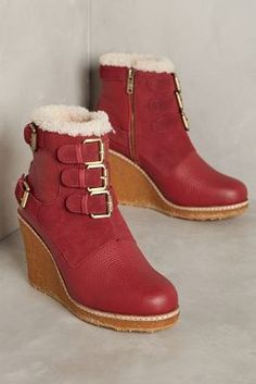 f6548eab3 Australia Luxe Collective Monk Wedge Boots