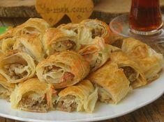 Yufkadan Patatesli Börek Tarifi, Nasıl Yapılır? (Resimli)   Yemek Tarifleri Spanakopita, Ethnic Recipes, Food, Essen, Meals, Yemek, Eten