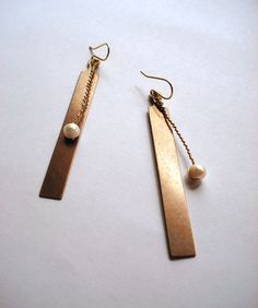 Metronome Pendant Earring - The Tick Tock Pendulum Series