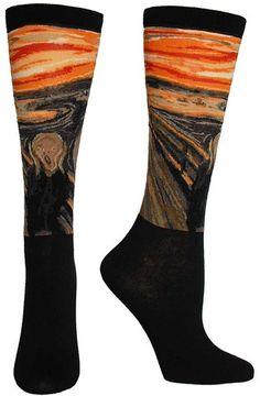 The Scream Masterpiece Series Socks
