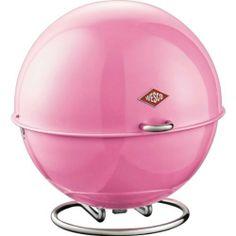 Wesco Superball Storage Bin - Pink - Bread / Storage Bins - Kitchen - By Room Bread Bin, Bread Boxes, Red Kitchen Accessories, How To Store Bread, Kitchen Storage Containers, Storage Bins, Quirky Decor, Kitchen Tops, Colors
