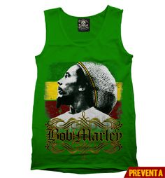 """Tank Top Marley""  morra  disponible en www.kingmonster.com.mx"