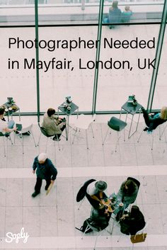#Photographer needed for a #networking #event in #Mayfair #London #UK on October 14th. See more info and apply by clicking the pin!