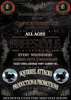 Freestyle Show With Rasta Mike - Go Blog Reputation Management, King George, Entertaining, Blog, Blogging, Entertainment