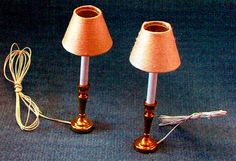 PDF Victorian Dolls House Lamps to make Craft by TheAtticofKitsch