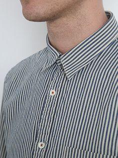 nn.07 ginza striped shirt