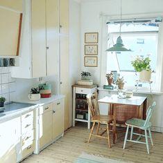 Loft Kitchen, New Kitchen, Kitchen Dining, Oh My Home, Interior Decorating, Interior Design, Country Kitchen, Interior Inspiration, Home Kitchens