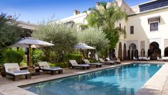 Relais & Chateaux, Moroccan style.