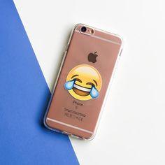 LOL Emoji - Clear TPU Case Cover