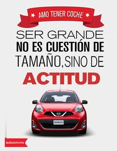 Nissan March lo tiene todo #March #Autocom #Nissan.