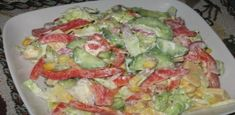 This is an amazing salad without any imagination, it is easy to prepare, tasty and saturated with natural vitamins, easily digestible. World Recipes, Home Recipes, New Recipes, Cooking Recipes, Low Calorie Salad, Good Food, Yummy Food, Chinese Cabbage, Natural Vitamins