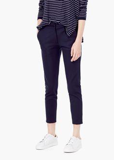 Pantalon droit | MANGO