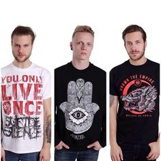 """""""The merchandise highlights for today  #impericon #suicidesilence #hundredth #crowntheempire"""""""