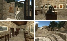 Through we create computer simulated environments that can simulate physical presence in places in the real world.