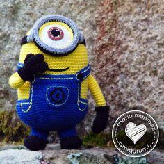 Amigurumi Minion Morado Patron : 1000+ images about minions on Pinterest Crochet minions ...