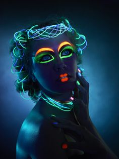 Hidden magic - UV съемка by art-obstrel production group , via Behance