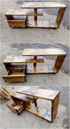 New wood pallet tv stand diy furniture plans ideas Diy Wood Pallet, Pallet Frames, Diy Pallet Projects, Wood Pallets, Pallet Ideas, Pallet Furniture Tv Stand, Diy Furniture Plans, Wood Furniture, Furniture Cleaning
