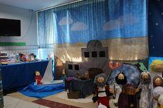 Escenografía para escuelita o club bíblico ✿⊱╮