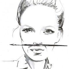 Zuzana Osako - Fashion&Design Festival Design Festival, Illustrations, Fashion Design, Illustration, Illustrators