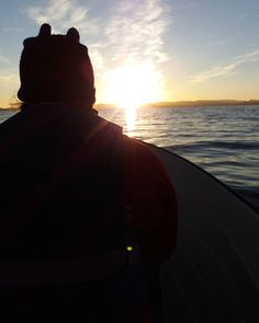 Fishing at midnight in #Norway #Lund #Fishing #boat #sea #visitnorway #utno #utnorge #fish