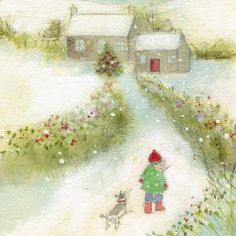Early morning walk, Sue Fenlon