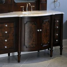1000 images about furniture vanity bathroom on pinterest double vanity vanities and for Furniture guild bathroom vanities
