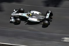 #Nico Rosberg gives #Mercedes F1 victory at dramatic #Monaco Grand Prix