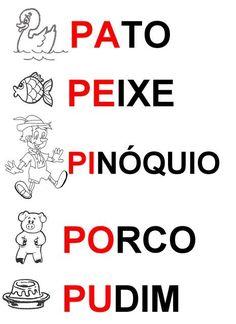 resultado de imagem para letra u palavras e figuras método fonico