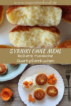 Quark pancakes without flour - simple & quick recipe- Quarkpfannkuchen ohne Mehl – einfaches & schnelles Rezept Delicious syrniki without flour Russian curd pancakes simple & quick recipe Quick Recipes, Quick Easy Meals, Baby Food Recipes, Chicken Baby Food, Pancake Healthy, Vegetarian Lifestyle, Homemade Baby Foods, Food Test, Pancakes