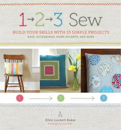 123sew, great beginner sewing book with easy projects