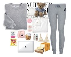"""""""Cozy night"""" by brunna006 on Polyvore featuring NIKE, Blair, Serena & Lily, Lexington, UGG Australia, Kate Spade, OXO, I.D. SARRIERI, Culinary Concepts and philosophy"""