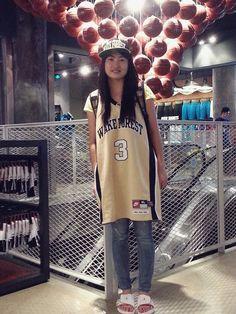 Street snaps, Jordan Brand event in Shanghai on SPITGAN.COM.  #basketball #fans #jordanbrand #wakeforest #photography #SPITGAN
