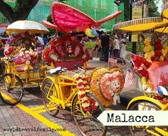 Malacca or Melaka Malaysia. Beautiful and diverse. Our first impressions of Malacca http://worldtravelfamily.com