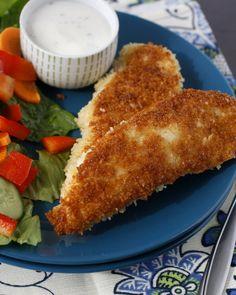 Crispy Pan-Fried Chicken Fingers