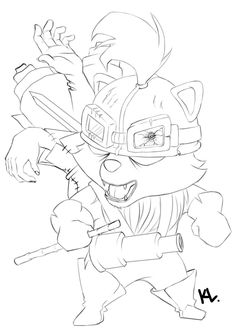 How To Draw Teemo From League Of Legends Step 3 | Apps Directories