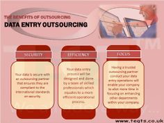 Outsource your #Data_entry project and secure your data with #TEQTS.
