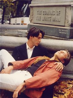 Keanu Reeves and River Phoenix for My Own Private Idaho directed by Gus Van Sant, 1991