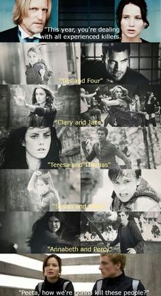 Extreme Fandom Crossover. Hunger Games Divergent Mortal Instruments Maze Runner Chronicles of Narnia Percy Jackson