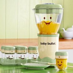 Bullet Complete Baby Food Prep System Prepare nutritious baby food in a flash with Baby Bullet from Magic Bullet.Prepare nutritious baby food in a flash with Baby Bullet from Magic Bullet. Magic Bullet, The Babys, Healthy Baby Food, Food Baby, Baby Food Mill, Healthy Eating, Newborn Baby Care, Newborn Baby Stuff, Baby Gadgets