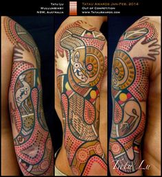Gallery For > Australian Aboriginal Tattoo Aboriginal Tattoo, Aboriginal Symbols, Aboriginal Artwork, Aboriginal Culture, Cool Forearm Tattoos, Body Art Tattoos, New Tattoos, Sleeve Tattoos, Tatoos