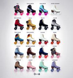 Vintage Roller Skates for The Arcade Vintage Rollschuhe für The Arcade Retro Roller Skates, Roller Skate Shoes, Quad Roller Skates, Roller Rink, Roller Disco, Roller Skating Rink, Roller Derby Clothes, Outdoor Roller Skates, Roller Derby Girls